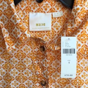 Anthropologie Tops - ANTHROPOLOGIE Petrin Buttondown Shirt by MAEVE